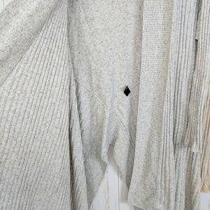 Lane Bryant Sweaters - Lane Bryant Asymmetrical Waterfall Sweater